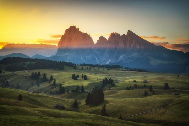 Alpe di Siusi Sunrise