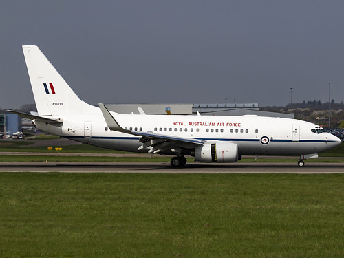 Royal Australian Air Force | Boeing 737-7DT BBJ | A36-001 | by MTV Aviation Photography
