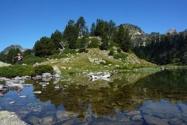 halte au lac de bastan