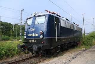 Centralbahn 101 278 te Bad Bentheim | by vos.nathan