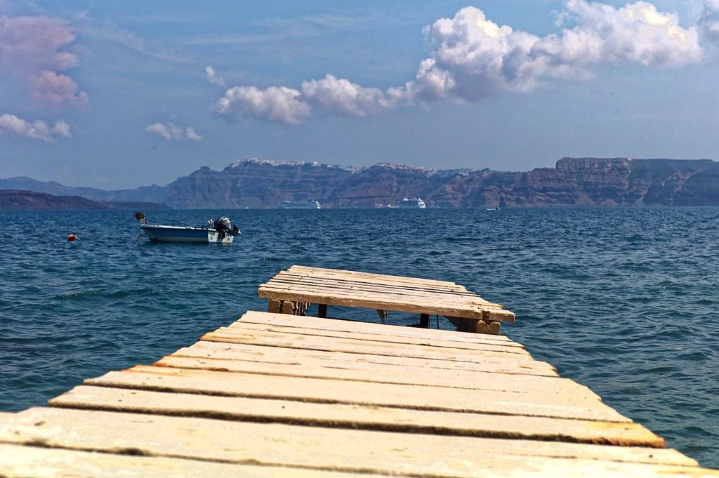 Dangerous path   Santorini - Greece   •Nicolas•   Flickr