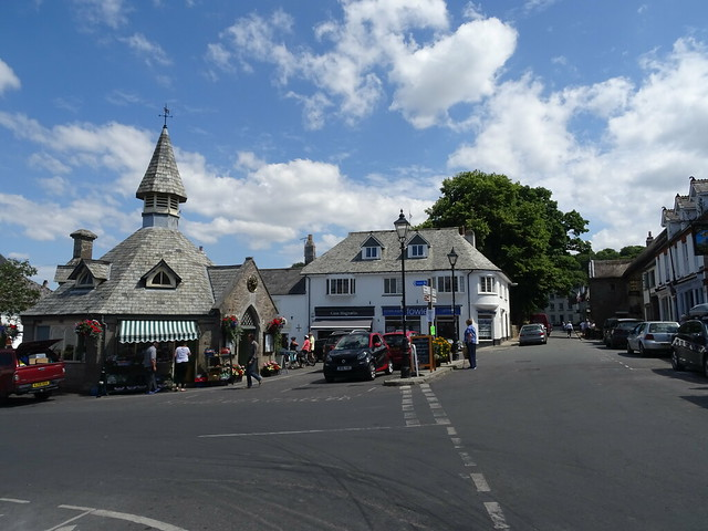 Town square, Chagford