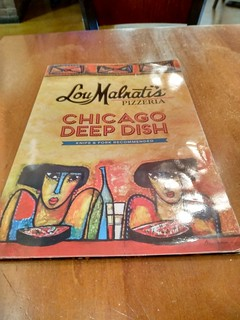 Chicago, USA | Pizzería Lou Malnati's | Carta | by moverelbigote