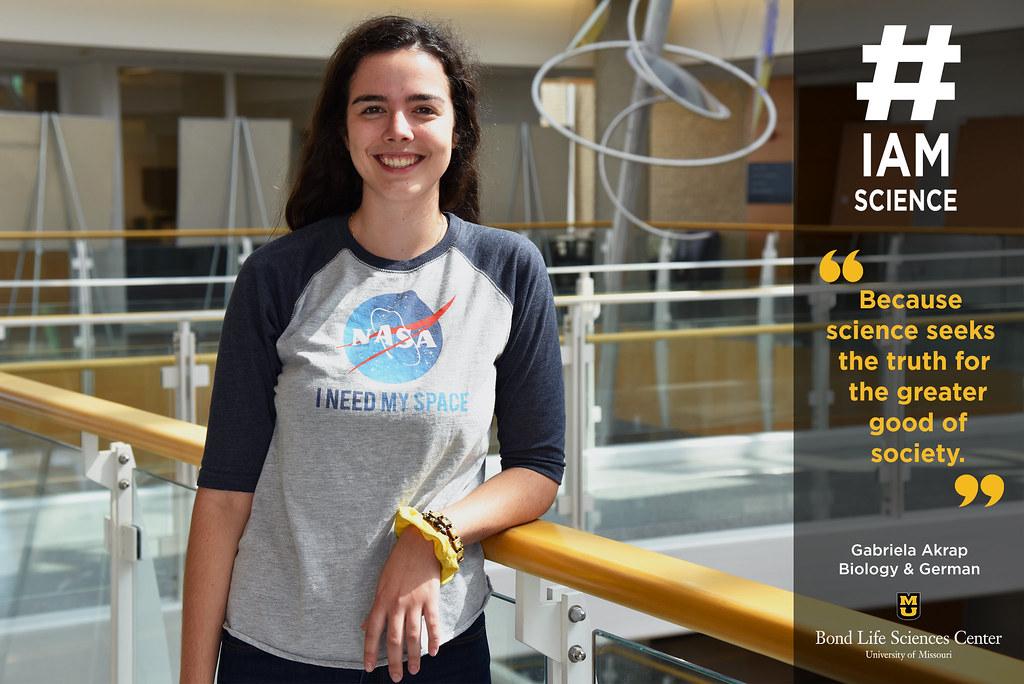 #IAmScience Gabriela Akrap