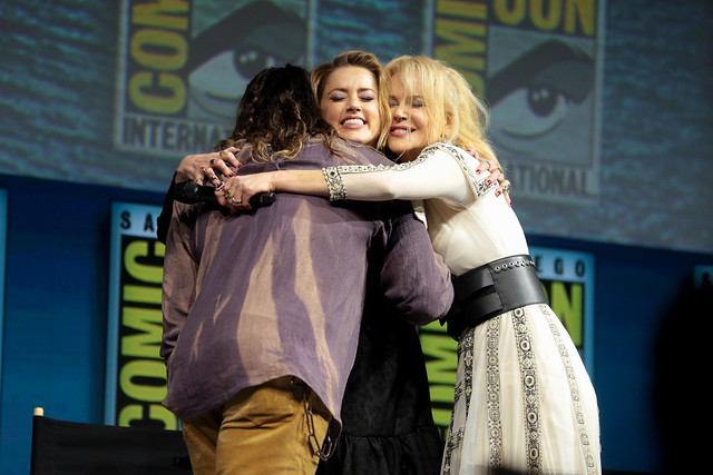 Jason Momoa, Amber Heard & Nicole Kidman