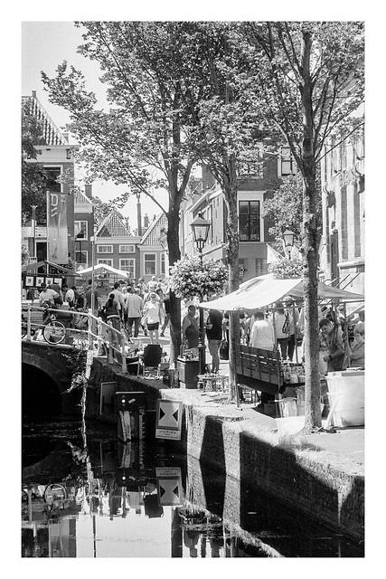 Delft, antique market, july 2018