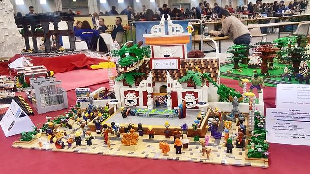 Torneo Tenkaichi lego