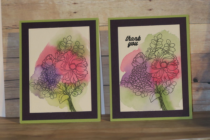 Fragrant Flowers Watercolor Cards