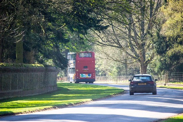 Trident travelling through the tranquil and beautiful Sandringham Estate