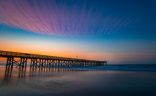 sun sunrise southcarolina south carolina southern nikon nikond800 d800 beach island pier isle palms isleofpalms charleston adobe adobelightroom photoshop
