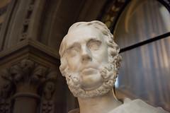 Bust of Sir Joseph Heron