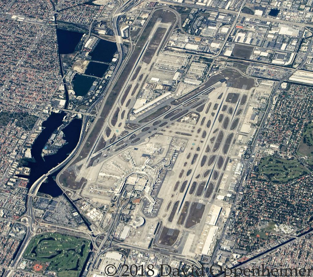 Miami International Airport Aerial Photo
