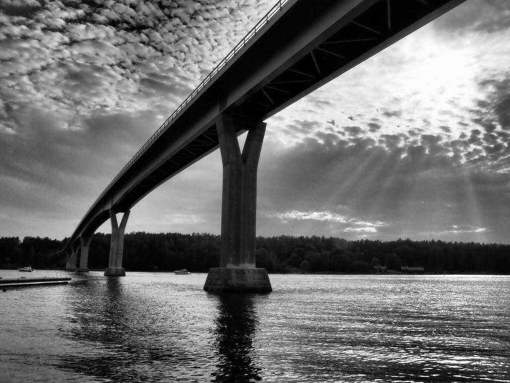 Bridge over untroubled water, Örö, Western Finland