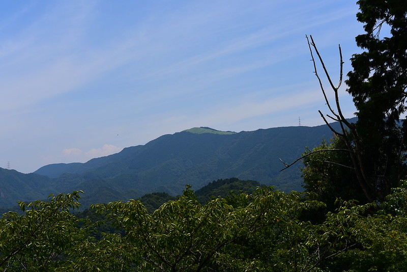 施福寺から岩湧山