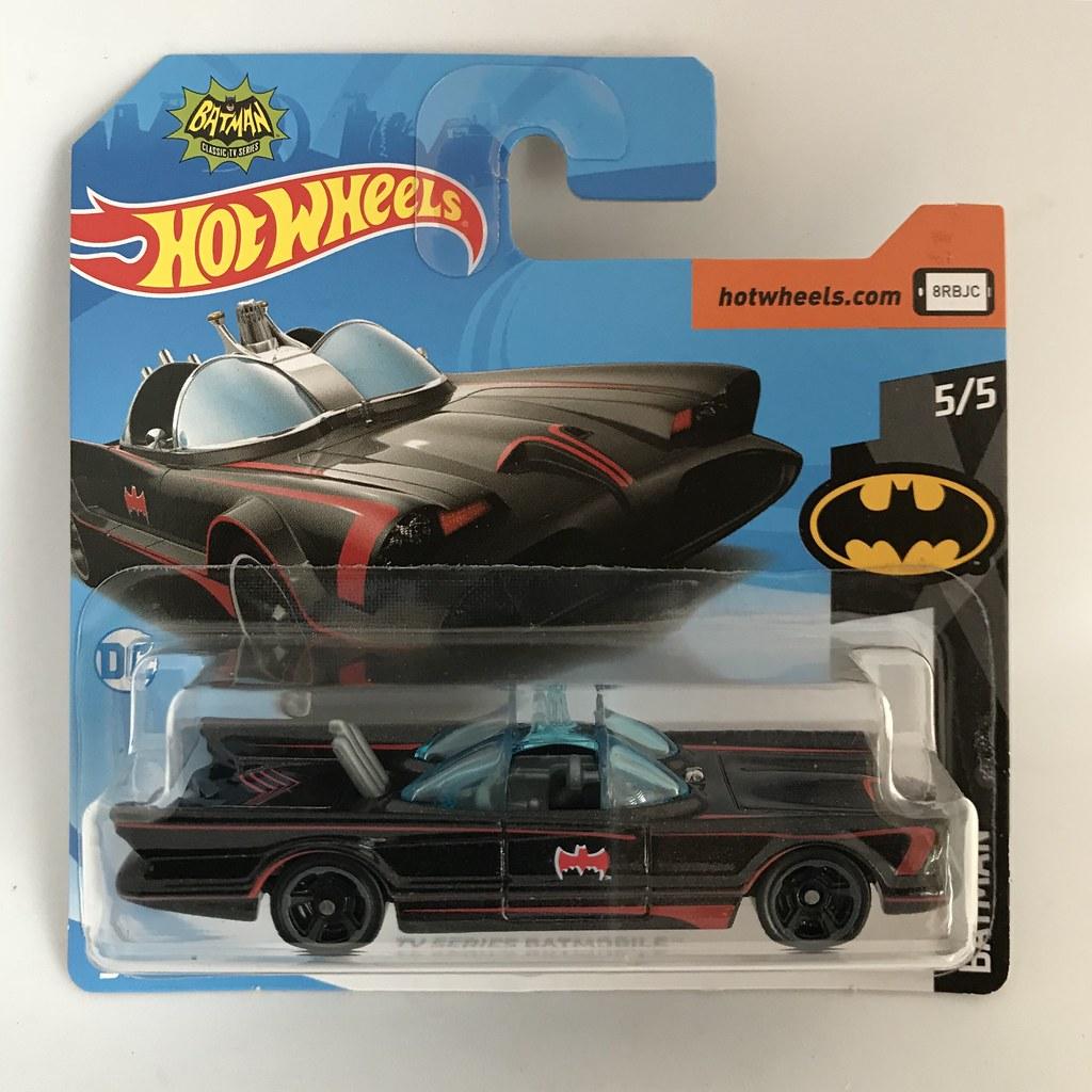 Batmobile TV Series Batman Classics DC Comics 5//5 163//365 by Hot Wheels Mattel