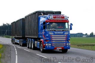 Kuljetusliike M. Tuppuri Oy FMN-580 | by puolatie95