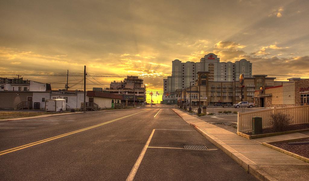 Streetside at Sunrise