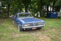 Trashed Mercury Cougar 3