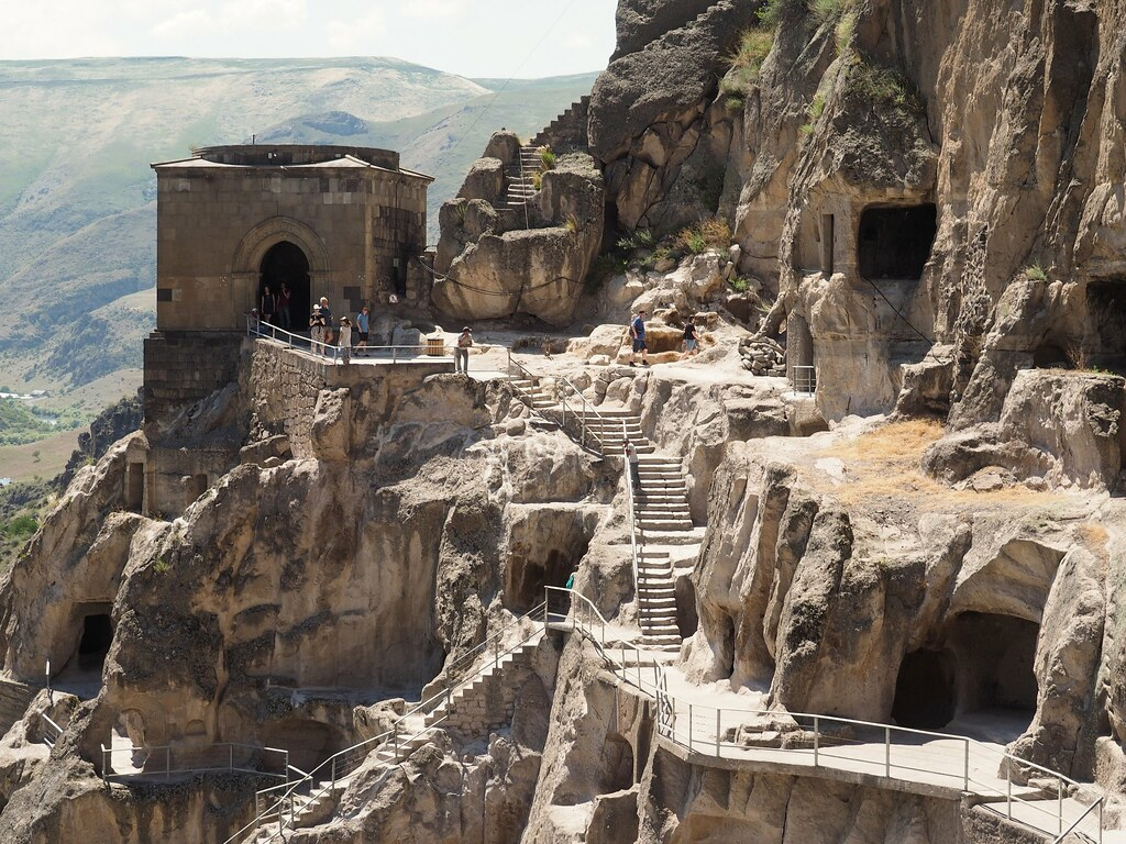 Vardzia, a town-monastery carved in rock