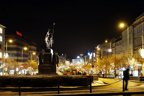 Place Venceslas, Prague   by rhespel