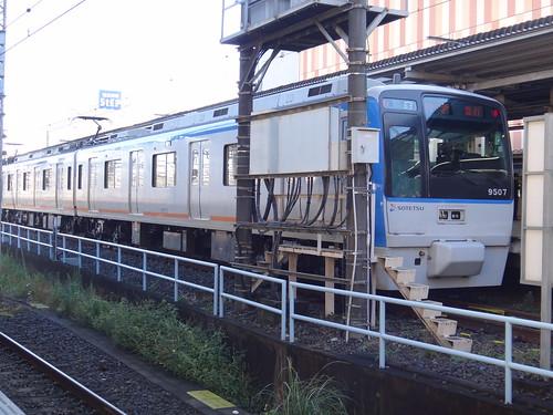 Sagami Rwy. Series 9000 car