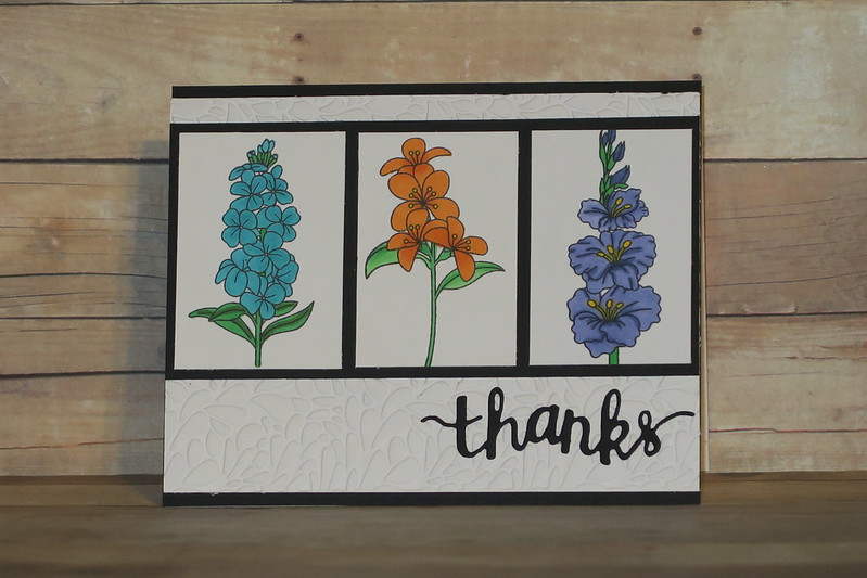 Miniature Florals Thanks