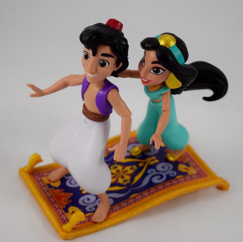 Magic Carpet Ride Action Figure Sets - Hasbro Disney Princ
