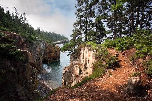 2018 acadia july maine mtdesertnarrows nationalpark newengland park rock schoodicpeninsula summer trees winterharbor cliffs rockybeach water