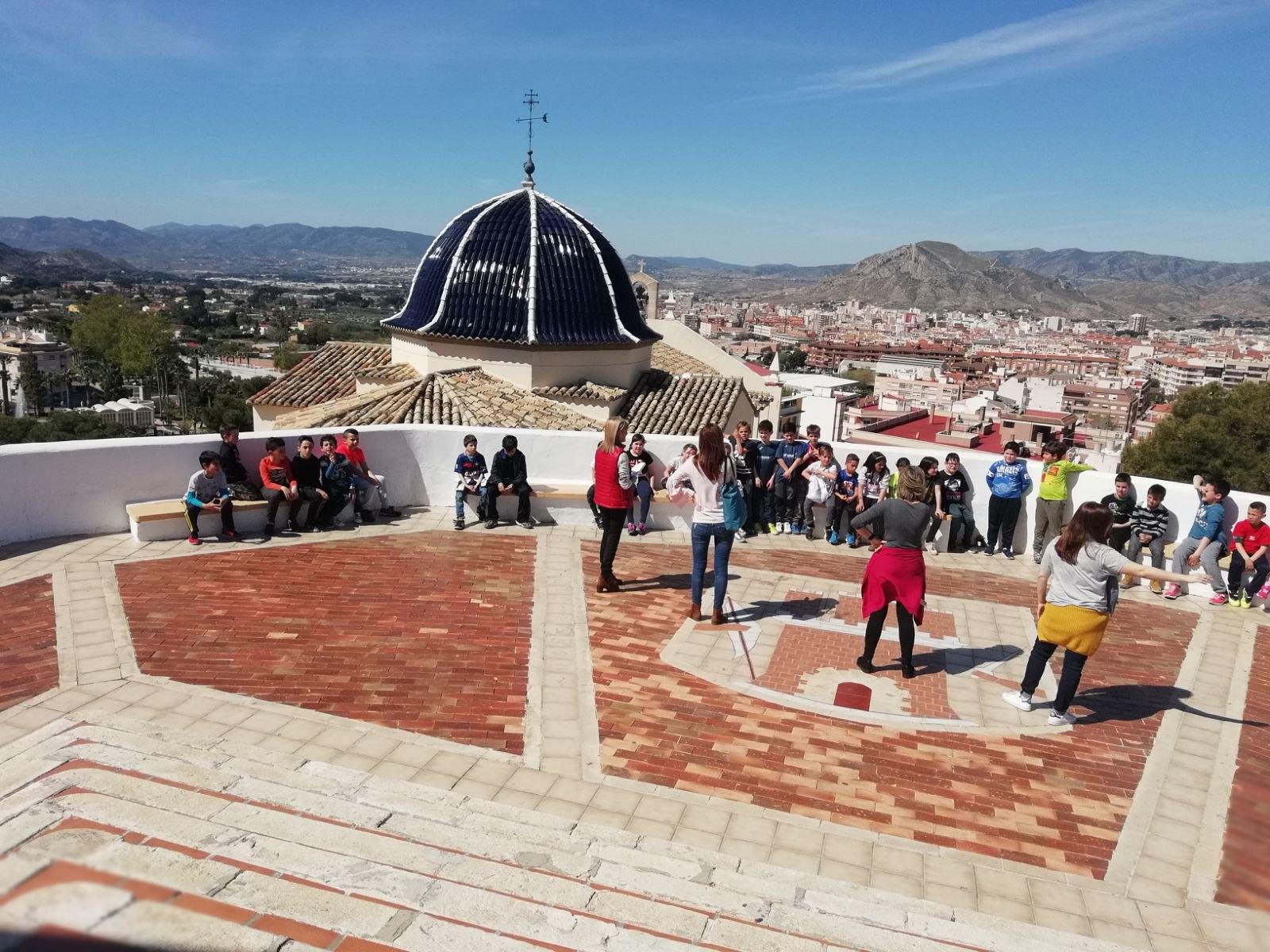 (2018-04-18) - Visita ermita alumnos Beatriz-Carmina-Lucía,3º,La Foia - María Isabel Berenguer Brotons - (02)