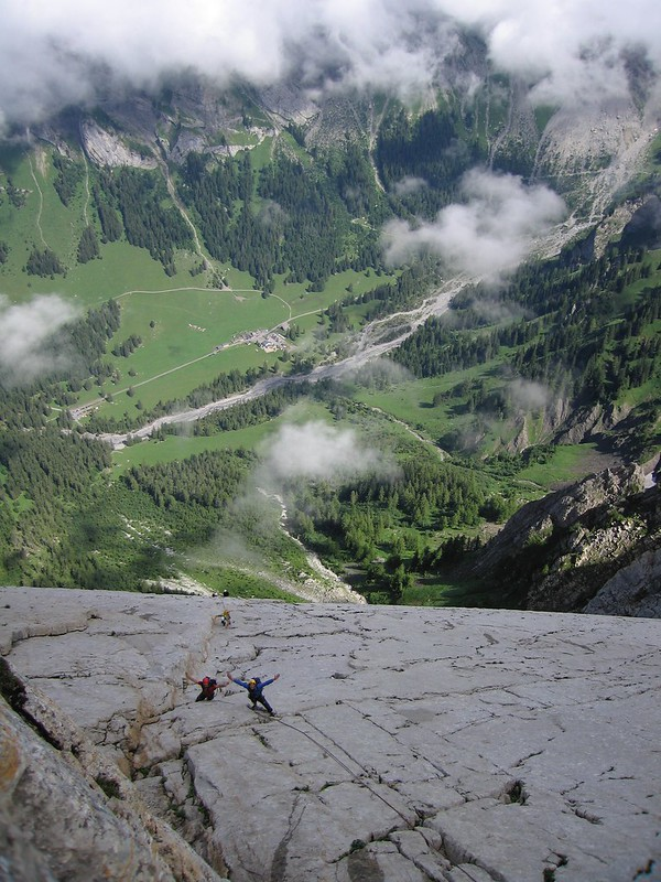 The Miroir d'Argentine in canton de Vaud, Switzerland. 13 pitches of lushness