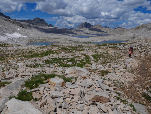 Jessica on the final push up to Muir Pass | by snackronym