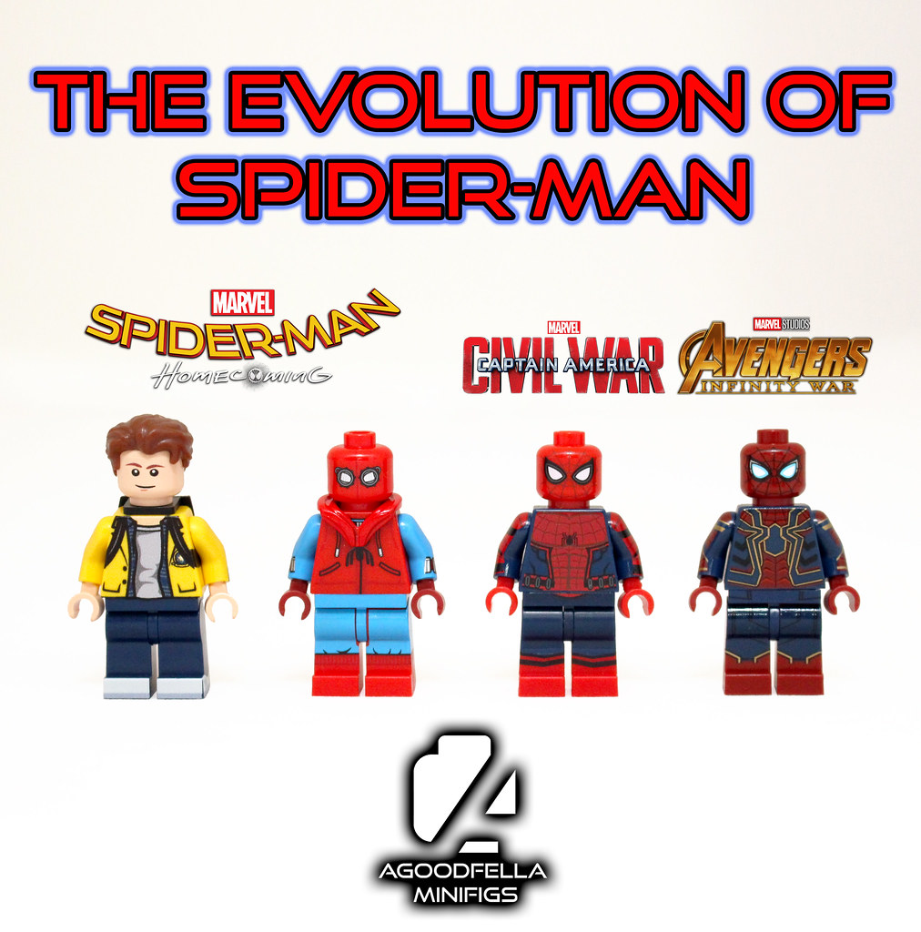 The Evolution Of Spider Man Mcu Ig Instagramcomagoodf Flickr