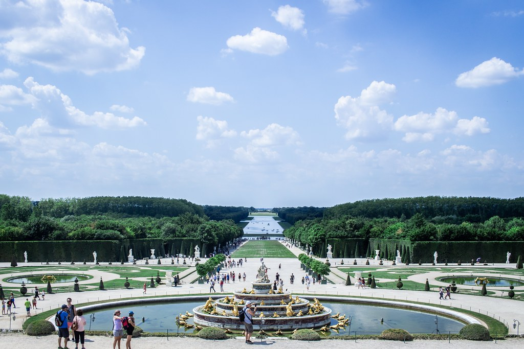 Jardins De Versailles Versailles Florent Lamoureux Flickr