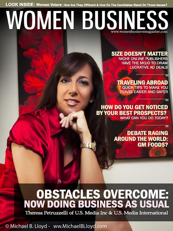 Women Business Magazine cover shot