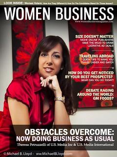 Women Business Magazine cover shot | by lloydsstudio