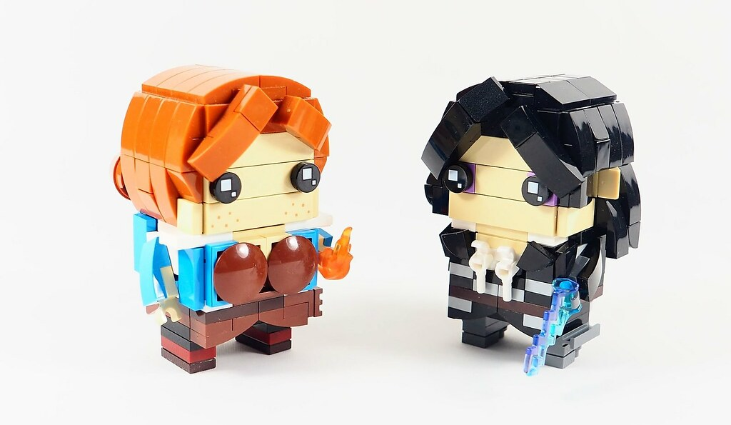 Triss & Yennefer | From left to right: Triss www brickshelf
