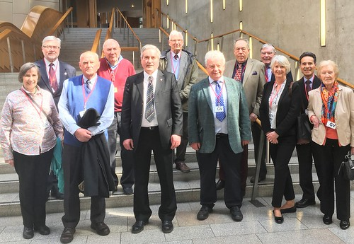 With North Berwick Probus visitors | by Iain Gray MSP