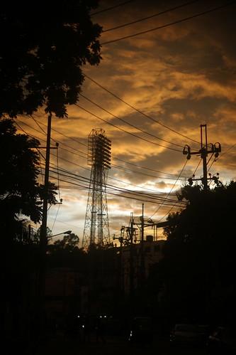 sky cloud light twilight dusk sunset street navalavenue chittagong bangladesh windshield sooc raw unedited untouched vertical
