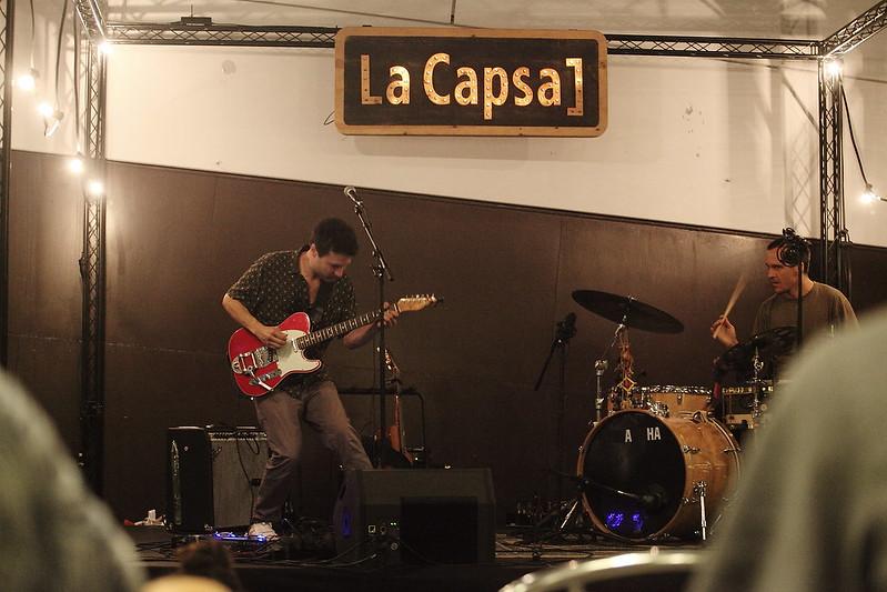 Nico Roig a la terrassa de La Capsa 21/06/18