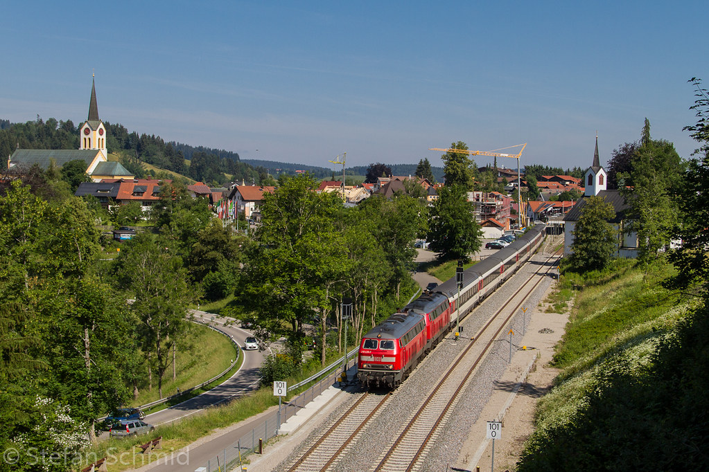 218 430 Führt Den Ec 191 Bei Oberstaufen Nach München Flickr