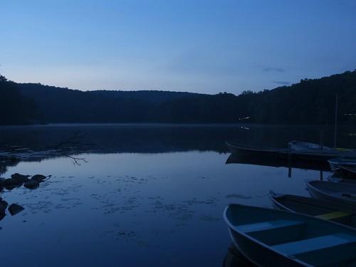 longexposure camp lake water boats twilight dock girlfriend dusk listeningto nj boyscouts lilypads allamuchy matthewsweet muscanetcong