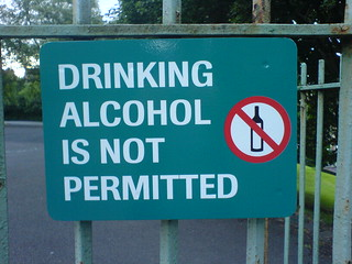 DRINKING ALCOHOL IS NOT PERMITTED | by Martin Deutsch