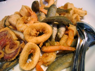 Fritto Misto in Sicily-Mixed Fried Seafood