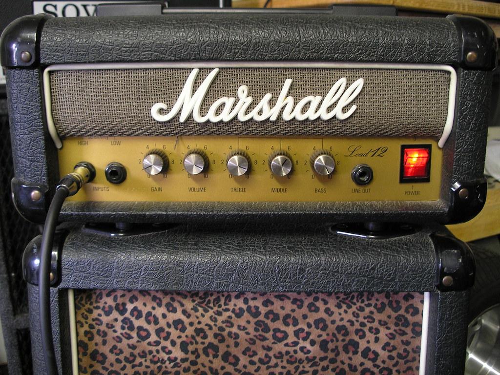 Marshall Lead 12 Mini Stack | Marshall Lead 12 Mini Stack