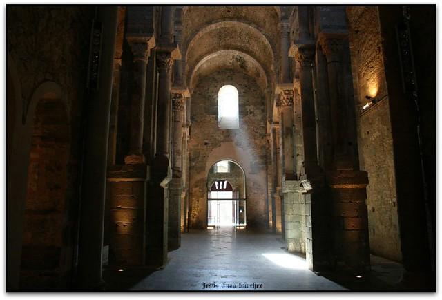 Església, Monestir de Sant Pere de Rodes, el Port de la Selva (l'Alt Empordà)