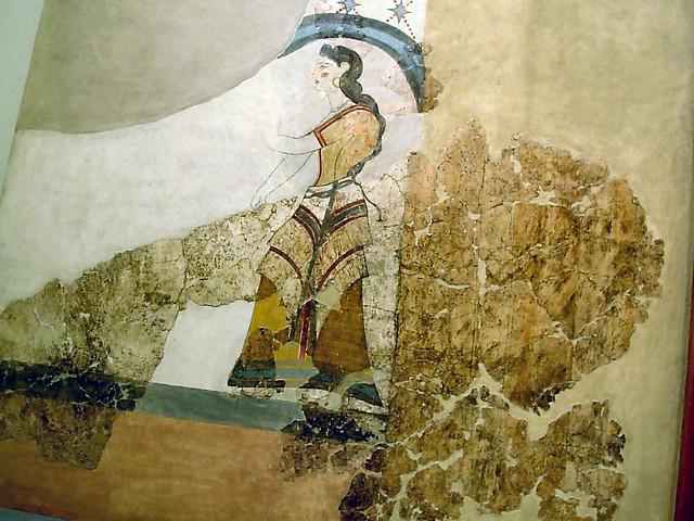 Greek Wall Painting Yanni Flickr