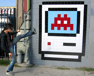 invader art | by feverblue