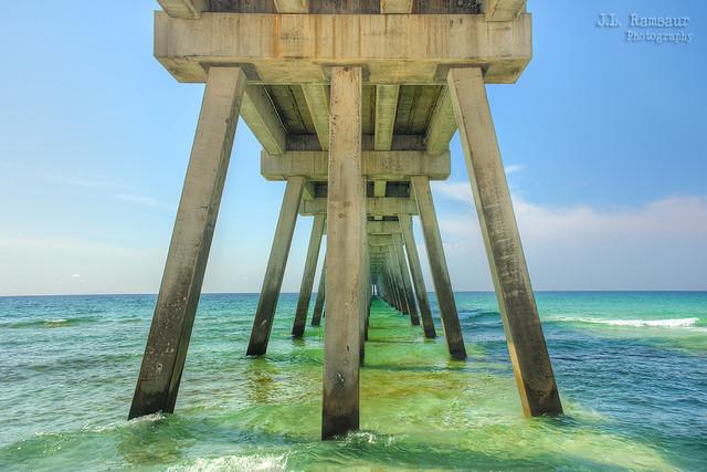 Navarre Beach Fishing Pier - Navarre Florida