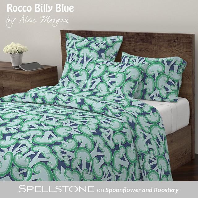 Rocco Bil'ly blue by Alex Morgan