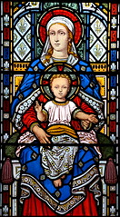 Blessed Virgin and Child (Bell & Beckham, 1890)